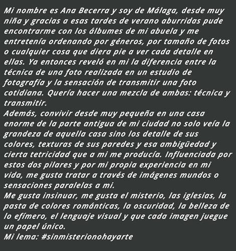 Biografia Ana Becerra